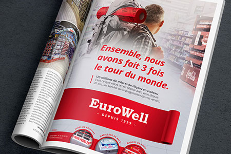 Eurowell — Campagne print