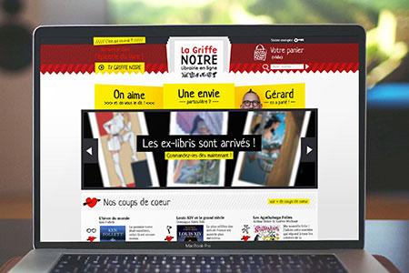 La Griffe Noire — Site web marchand